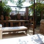 Août 2013.. La terrasse.