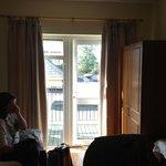 balcony off room