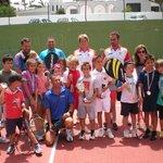 Kids tennis camp Los Barqueros