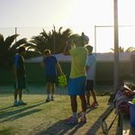 Group lesson at Las Marismas