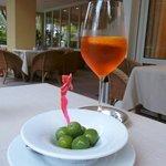 Pre-dinner Aperol Spritzer/ Veneziano!