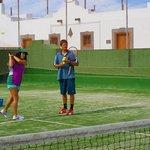 Tennis lesson Las Marismas