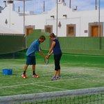 Tennis holiday at Los Barqueros