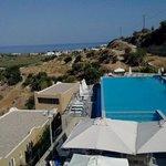 vue d'ensemble de l'hôtel et de la piscine
