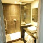 Shower and Washroom