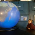 interactive Video Globe display