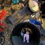 Wasteful World interactive exhibit