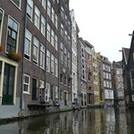Nice old buildings along the canal