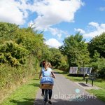 Beautiful Countryside Cycling