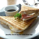 Sandfly Bacon Buttie