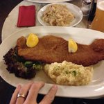 The biggest and best schnitzel!