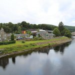 Port na Craig Restaurant on the Tummel, a stone's Throw from the Festival Theatre