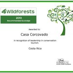 Congratulations, The Ancient Forests Foundation has selected Casa Corcovado Jungle Lodge as one