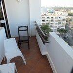 Le petit balcon de la chambre