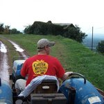 Hayride at Carter Mountain Orchard