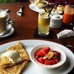 Breakfast ...