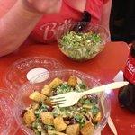 make your own salads!!