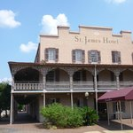 St James historic hotel downtown