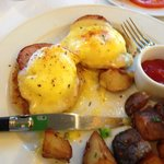 Pork Loin Eggs Benedict