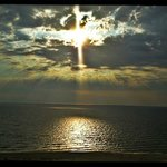 Sunset at the Laketown beach