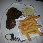 Rump and chips