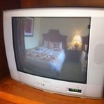 Marriott Denia La Sella old TV in room