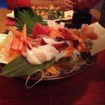 Sashimi plate quality average