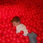 Cranberry ball pit, what fun!
