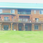 Back view of Crooked Creek Retreat