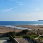 View from Amroth Castle Penthouse