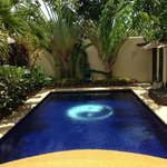 a great private pool in this private villa