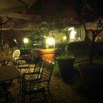 terrazza alla sera