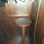 A stool in the wardrobe!