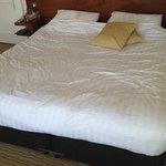 lumpy bed