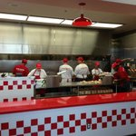 Five Guys grill
