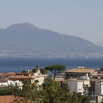 Vesuvius from the balcony of Room 16