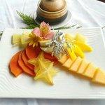 Frutas. Desayuno