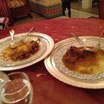 Tajin beef and chicken.. yumm