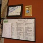 Their restaurant signage