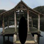 Deck de madeira necessitando reforma urgente