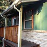 Side entrance for cabin #8