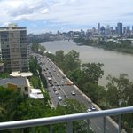 View of Brisbane City & River