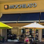 Outdoor seating and Imaculate store front