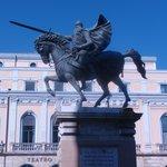 estatua del Cid Campeador.