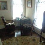 Turret Suite--breakfast corner