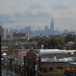 View from Wrigley of the city
