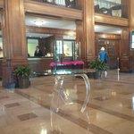 Main lobby is gorgeous
