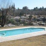 Pool near river