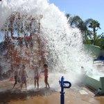 Water Park Bucket Dump !