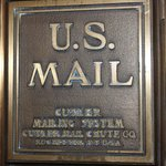 Authentic mail box in the hotel.